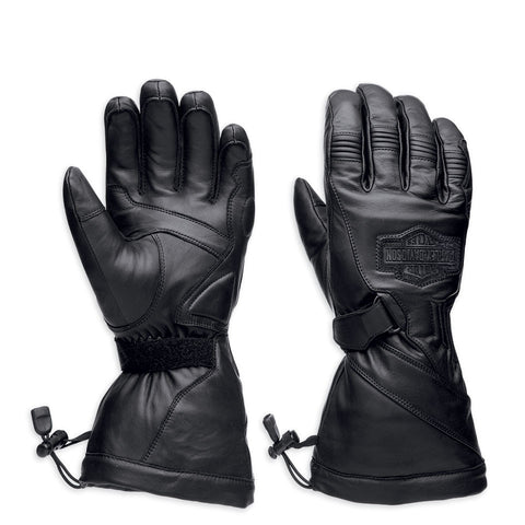 Harley-Davidson Circuit Men's Waterproof Guantlet Gloves 98276-14VM