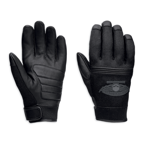 Harley-Davidson Winged Skull Men's Gloves