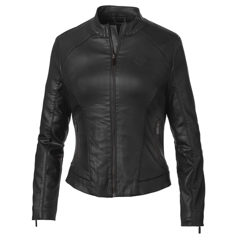 Harley-Davidson Wing Back Women's Coated Jacket