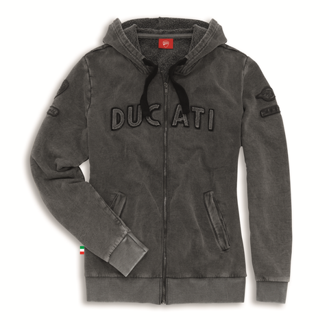 Ducati Historical Women's Hooded Sweatshirt