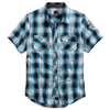 Harley-Davidson Snap-Front Men's Plaid Shirt