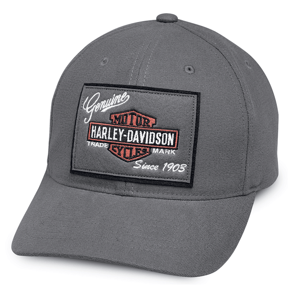 Harley-Davidson Genuine Logo Patch Cap