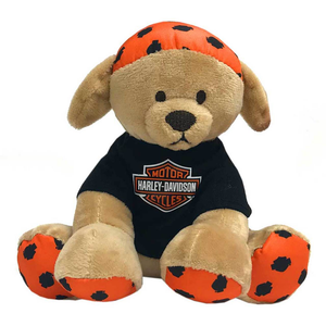 Harley-Davidson Buddy Bean Bag Plush