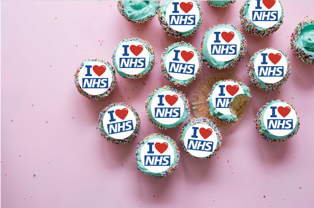 I Love NHS cake toppers. 👏 👏 👏