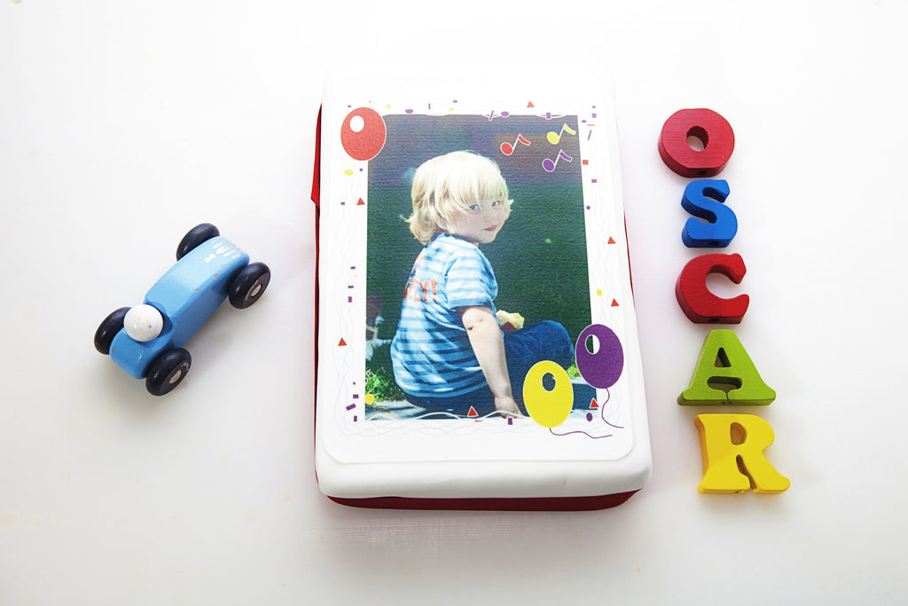 Birthday Edible Image Rectangular Topper