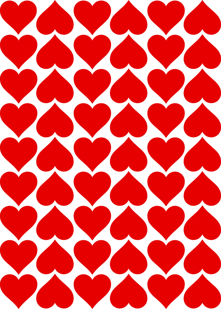 Heart Pattern Designer Prints