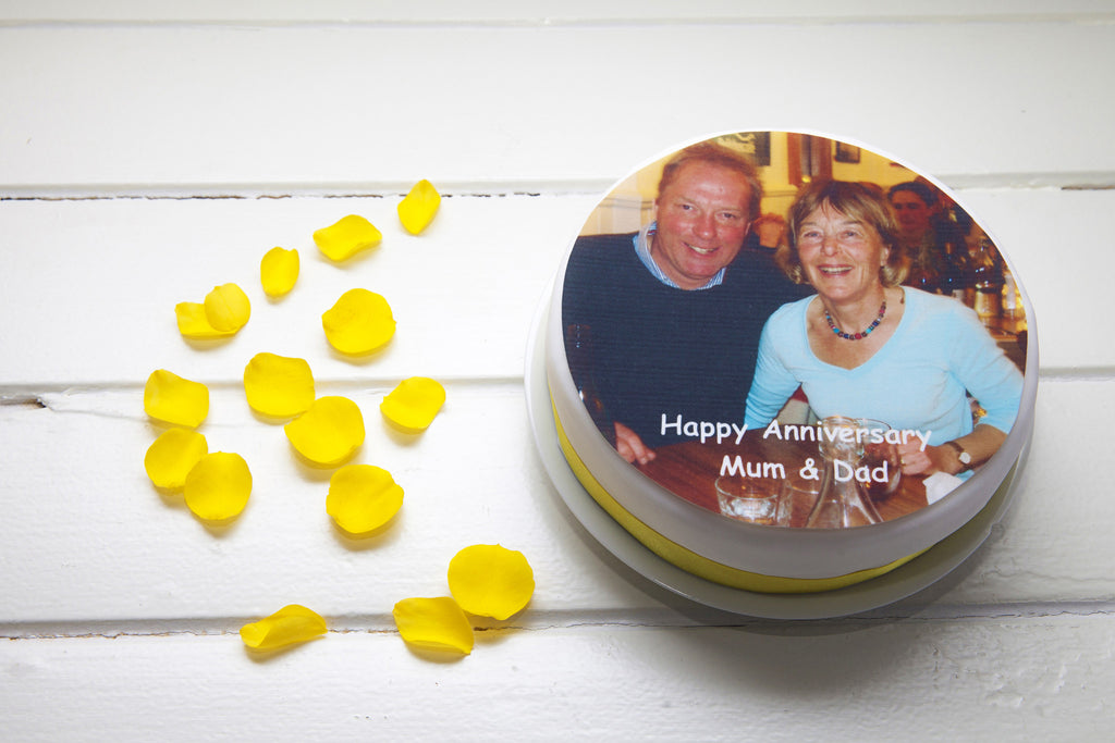 Wedding Anniversary Custom Edible Image