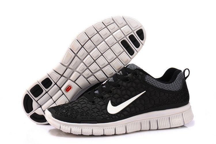 size 40 c8725 65c85 2013 Nike Free 6.0 Black White Mens Running Shoes ...