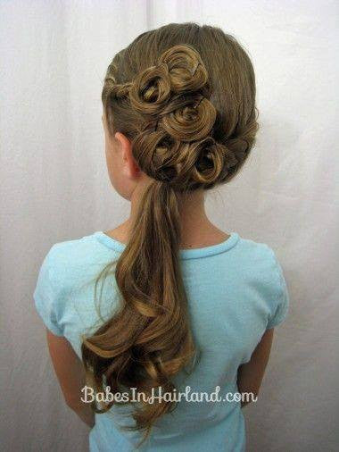 Pretty hairstyles for little girl!12