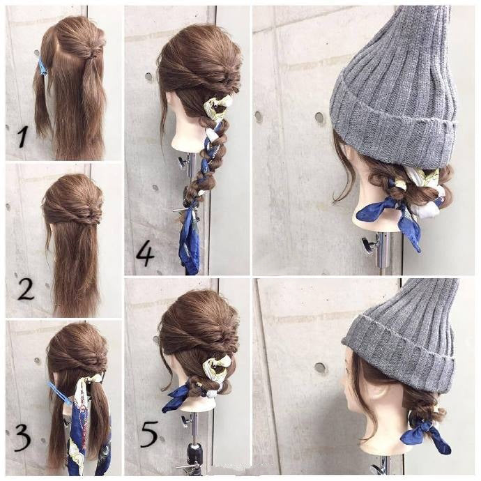 Nice Hairstyles for Winter No.1