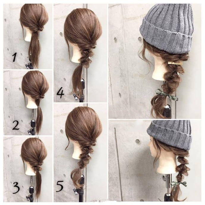 Nice Hairstyles for Winter No.2