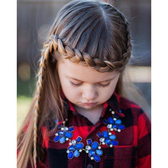 Pretty hairstyles for little girl!