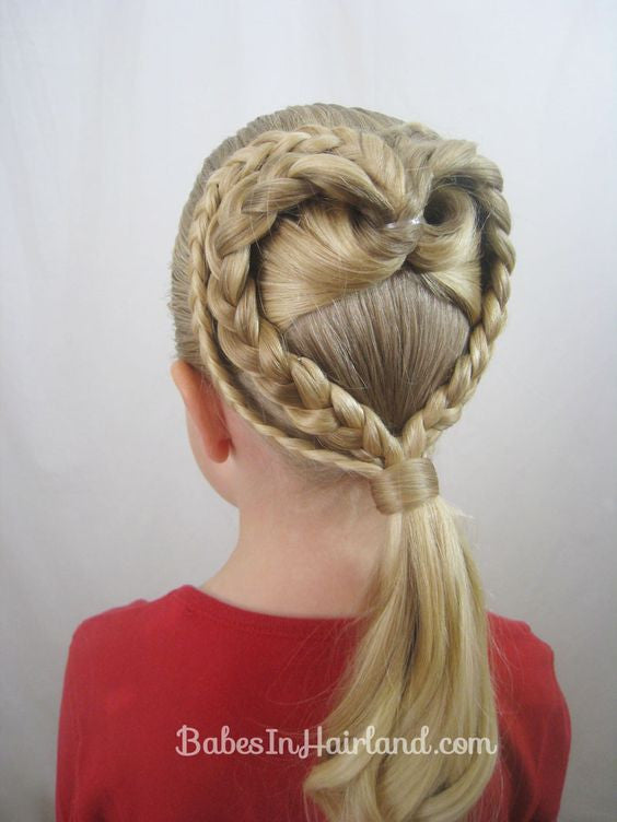 Pretty hairstyles for little girl!4