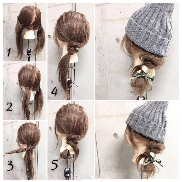 Nice Hairstyles for Winter No.3