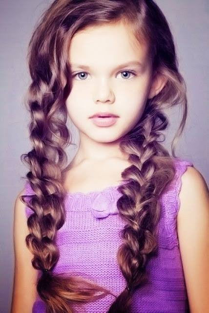 Pretty hairstyles for little girl!1