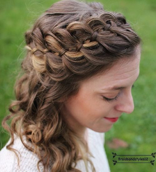 Valentine's Day hairstyles 4
