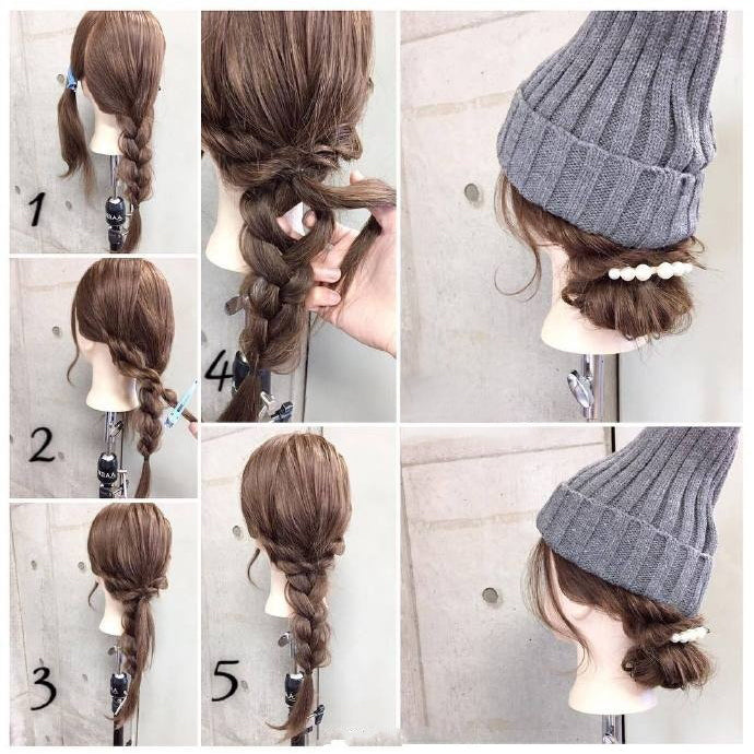 Nice Hairstyles for Winter No.4