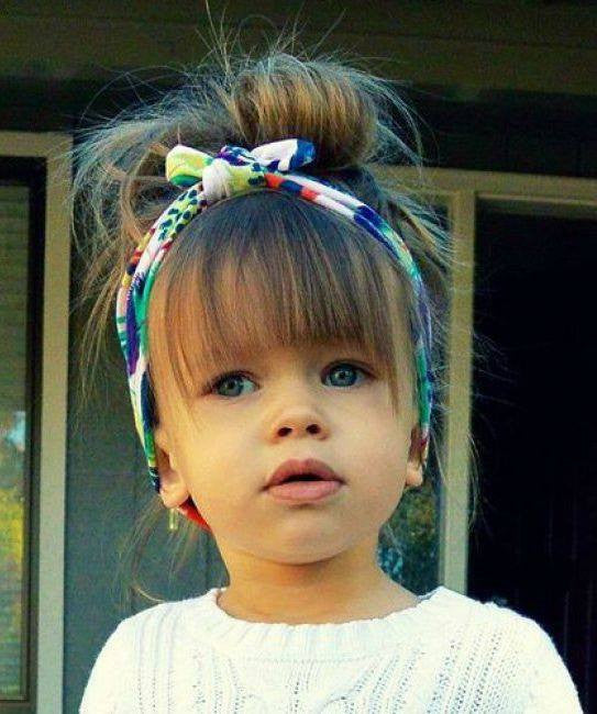Pretty hairstyles for little girl!7