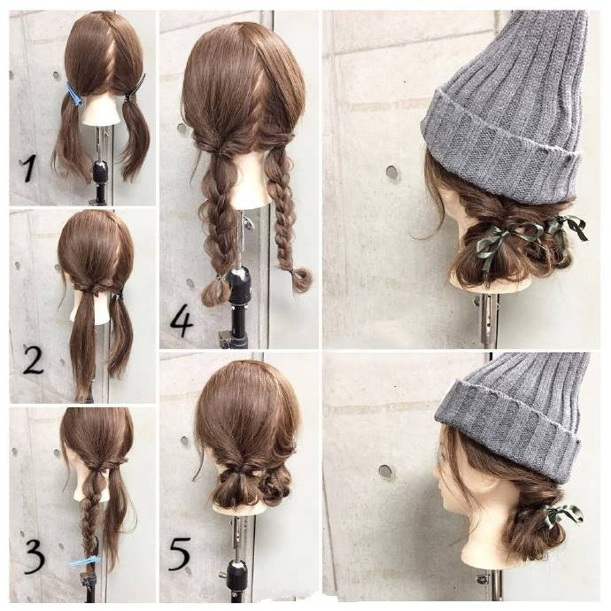 Nice Hairstyles for Winter No.7