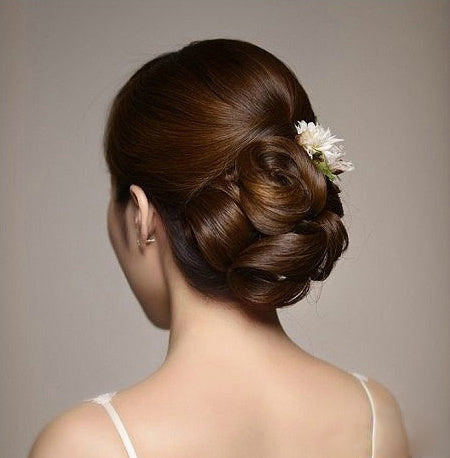 Korean Wedding Hairstyles Collection from KINGHAIR
