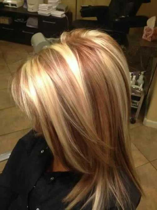 Strawberry Blond Hair With Highlights