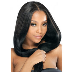 Jet Black(#1) Remy Clip In Hair Extensions