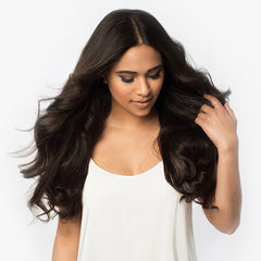 Dark Brown(#2) Remy Clip In Hair Extensions