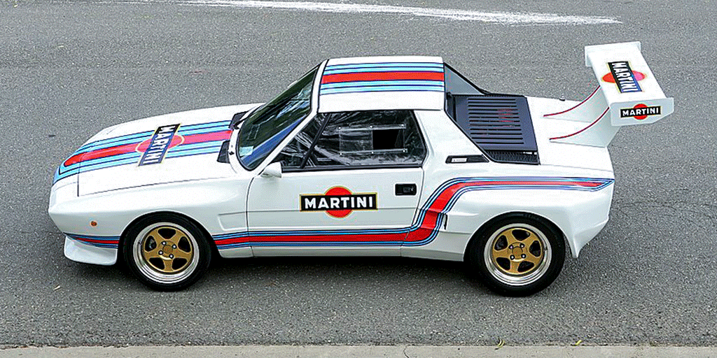 Fiat Dallara Martini Racing Stripes Custom Design Realization