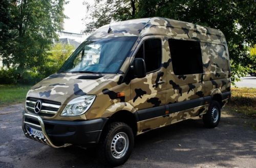 CAMO CAR WRAP VINYLS - Style your car with Camouflage - truck