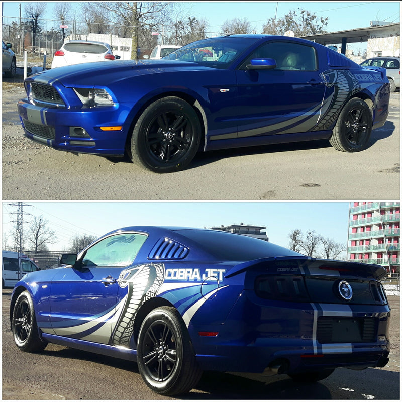 mustang cobra jet decals