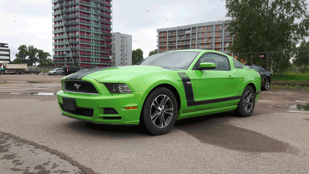 Ford Mustang BOSS 302 2010-2014 full set decals for hood fenders ...