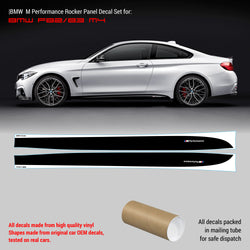 BMW M Performance Set of Side Stripes for M4 series F82 / F83