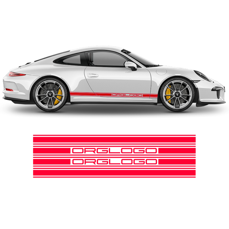 Racing Decals set in one color, for Carrera