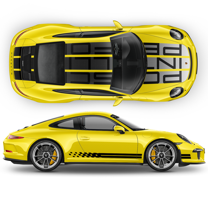 Endurance Racing Edition design decals set for Porsche Carrera 911