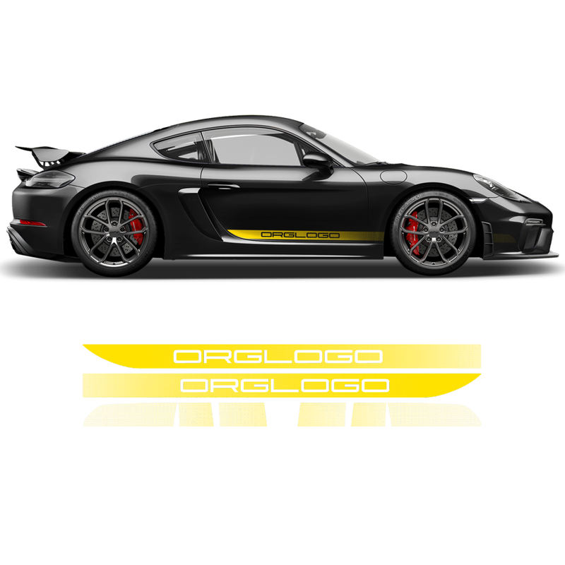 FADED Racing Decals set for Cayman / Boxster 2005 - 2019