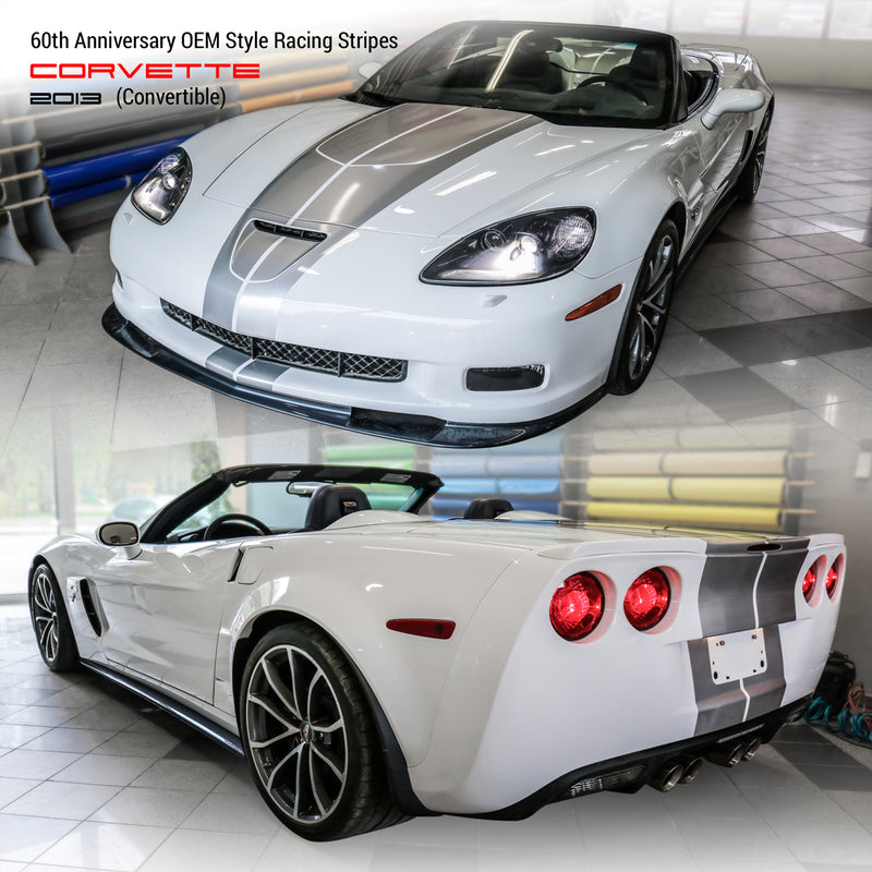 Chevrolet Corvette 60th Anniversary OEM Style Racing Stripes