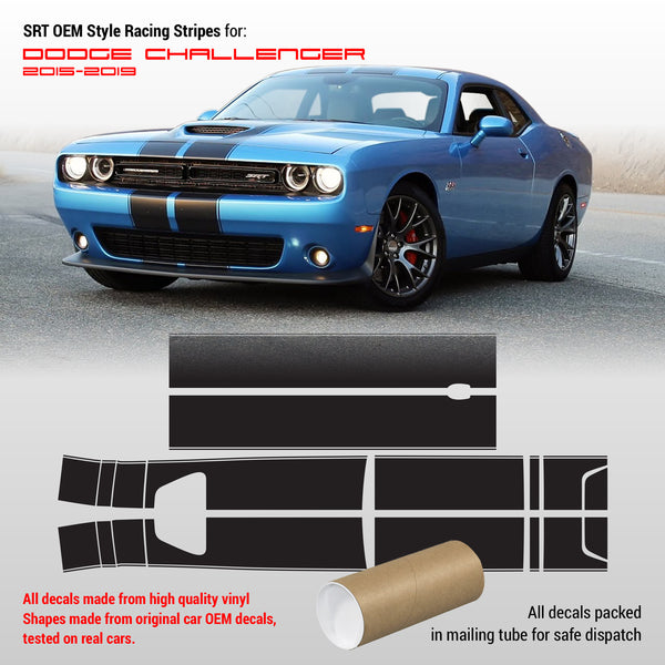 Dodge Challenger srt stripes