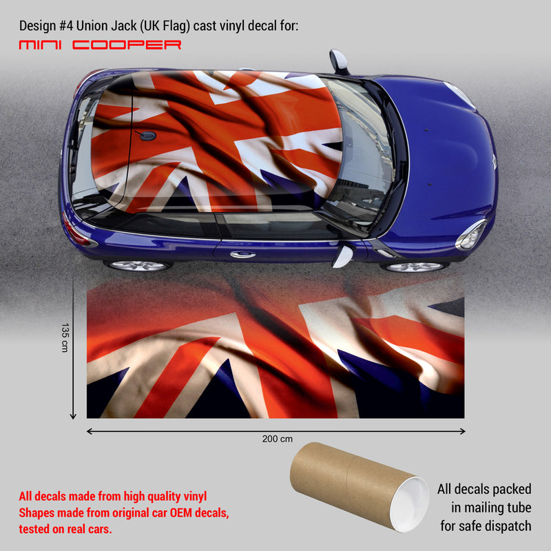british flag decal mini cooper