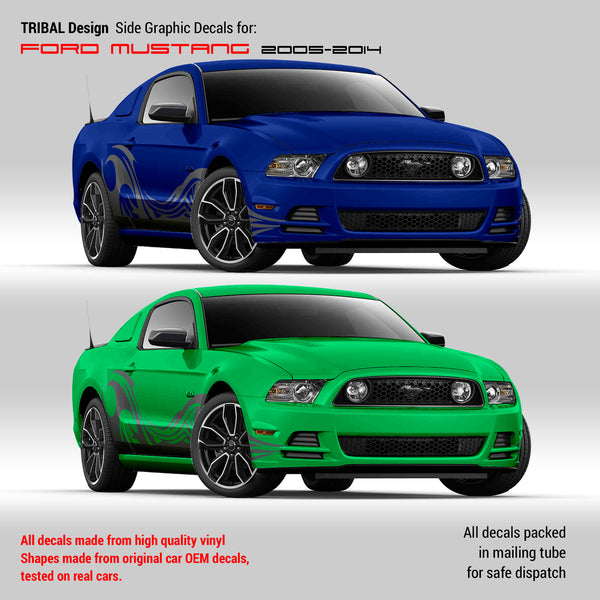 mustang tribal decals