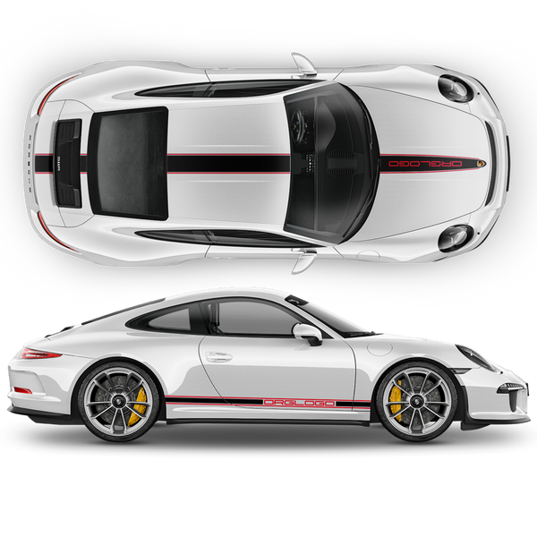Racing Decals set in two colors for Carrera
