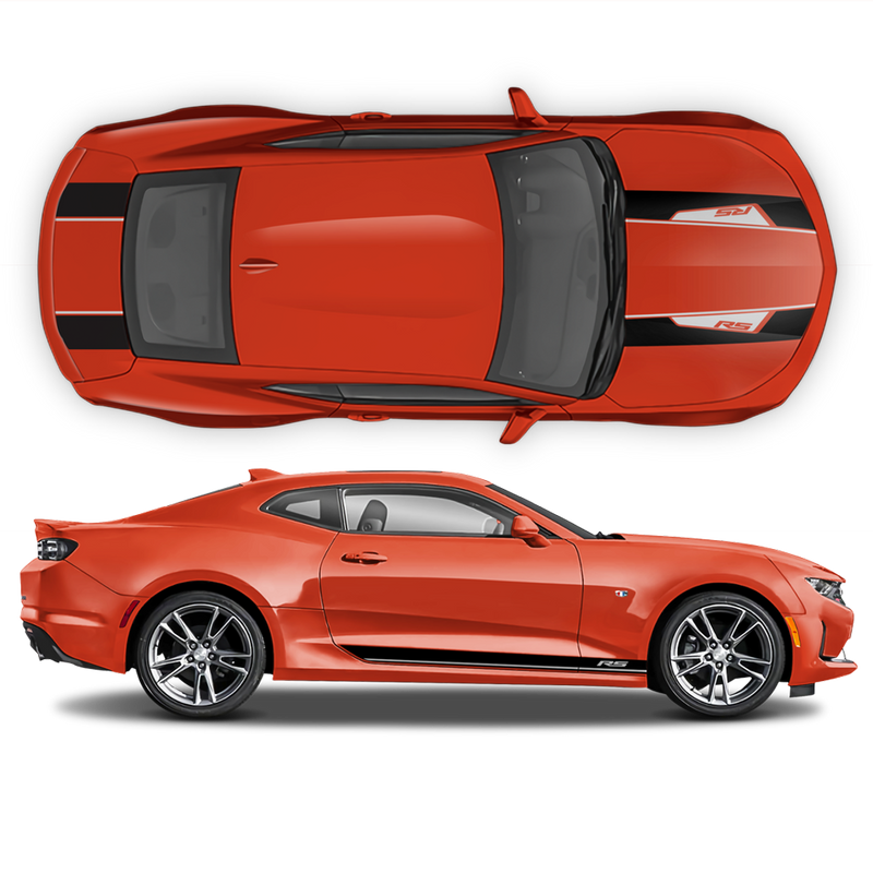 Sema Edition Racing Stripes Set in Two Colors for Camaro 2016 - 2018