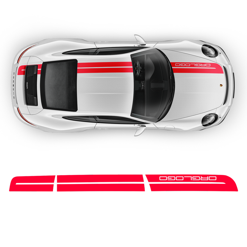 Sport Cup Edition Racing Stripes Set for Carrera