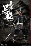 PRE-ORDER - Palm Empire Japanese Samurai Ashigaru (Black Armor) 1/12 Scale Figure