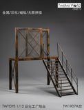 TWTOYS TW1907A - 1/12 scale Steel Stairs & Platform ($39.95)