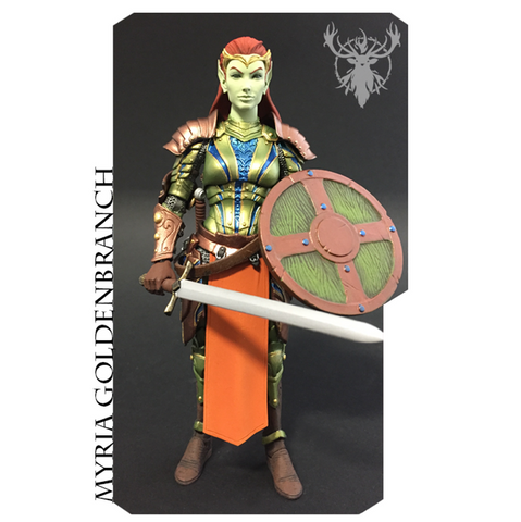 Mythic Legions - Myria Goldenbranch