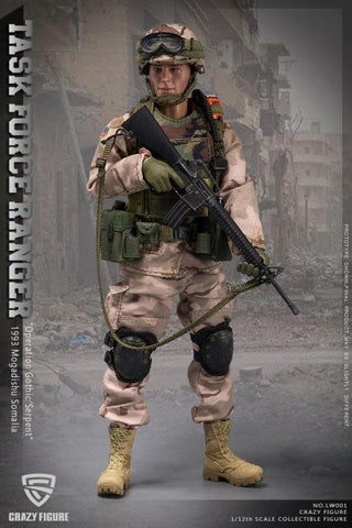 Task Force Ranger Chalk Leader (Operation Gothic Serpent) 1/12 Scale Figure