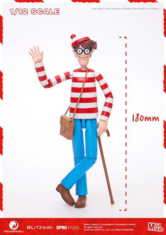 Pre-Order -  (Standard Version) Where's Waldo 1/12th Scale Action Figure