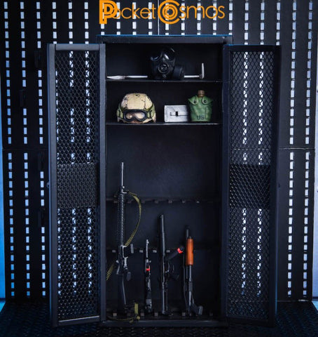 Pre-Order - PCToys Weapon Cabinet 1/12 Scale Accessory ($41.95)