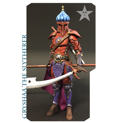 PRE-ORDER - Mythic Legions - Gryshaa The Slytherer