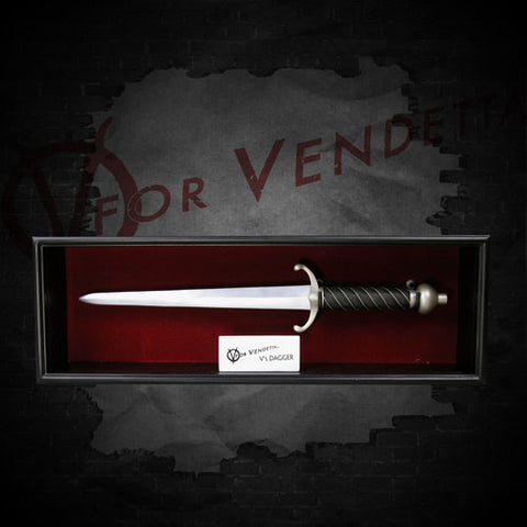 V for Vendetta Dagger Prop Replica by NECA